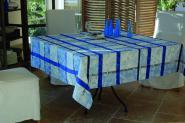 Florentine Blau 175 cm, rund