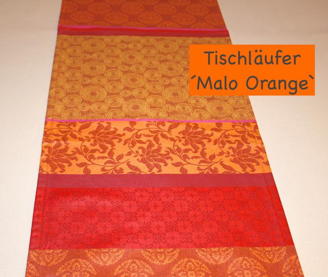 Tischläufer Malo orange